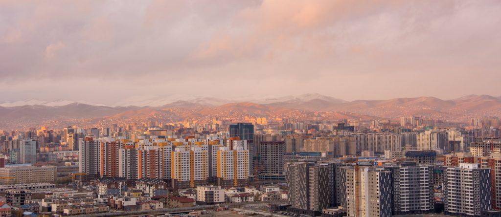 בנייני מגורים באולאן באטאר מונגוליה