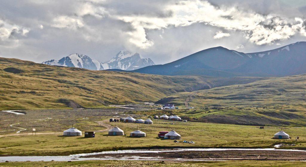 נוף פנורמוי - מונגוליה