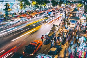 רחוב סוען בבנגקוק תאילנד