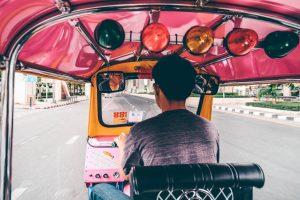 נהג טוקטוק בנגקוק תאילנד