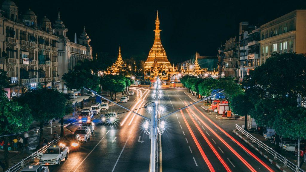 ינגון הבירה של בורמה