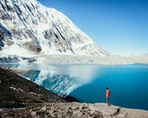 נפאל הרים מושלגים על גג העולם