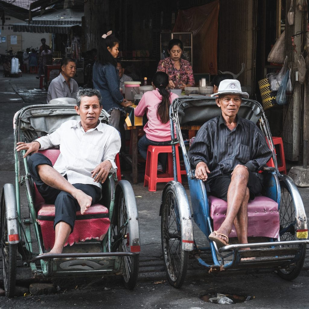 ריקשת אדם קמבודיה