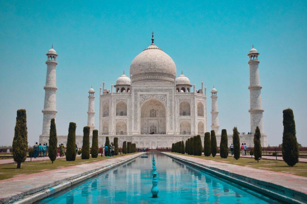 הט'אג מאהל - הודו -סמל האהבה הגדול בעולם